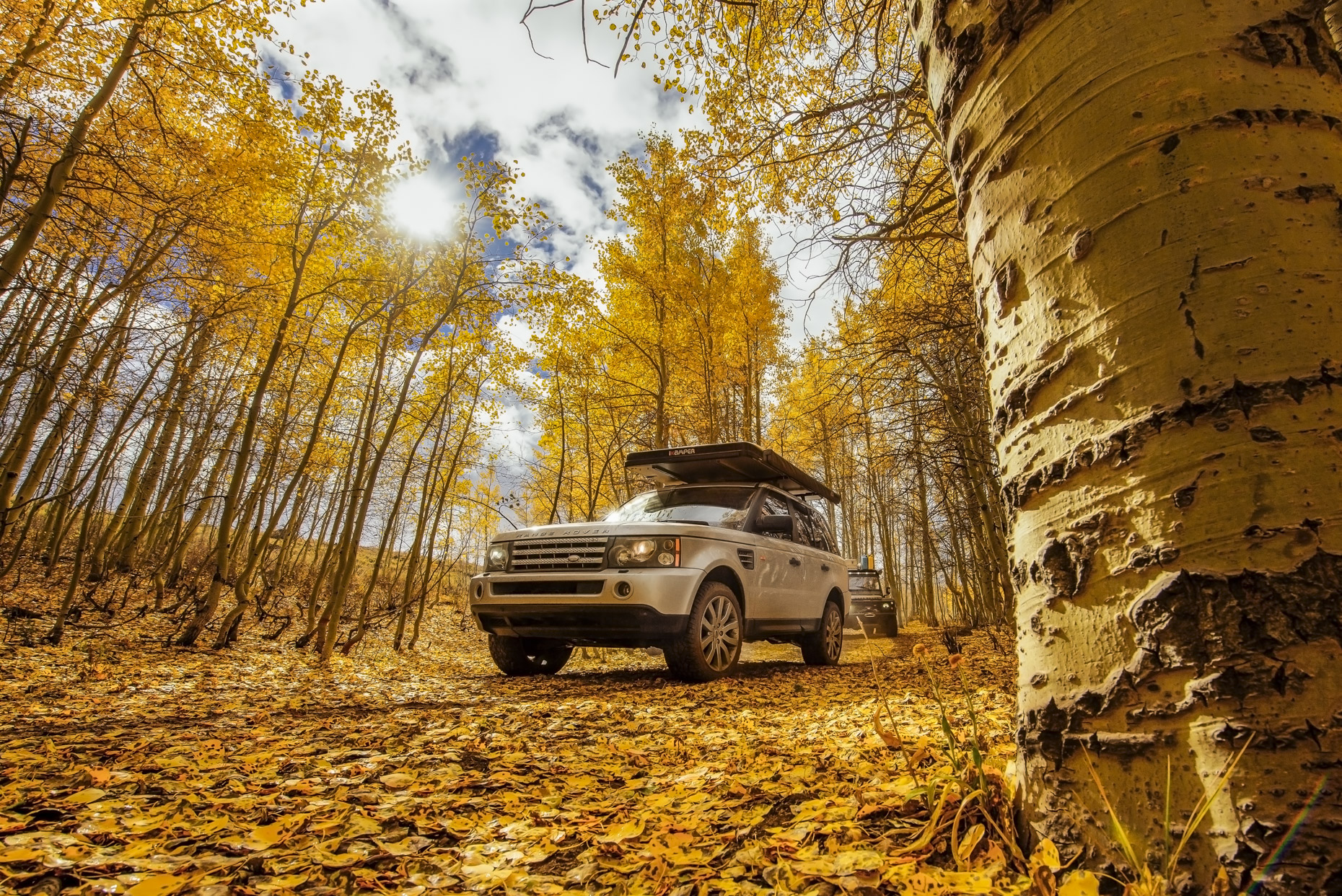 Outdoor Adventure Car Photography