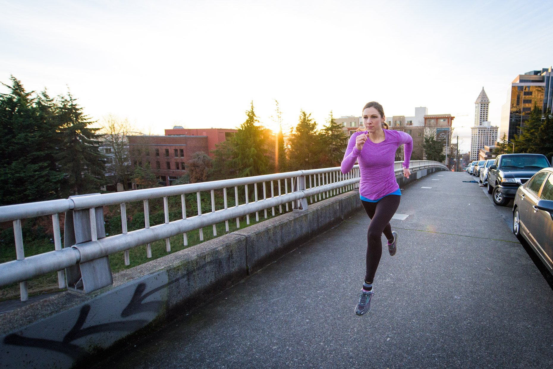 Seattle outdoor and fitness photography