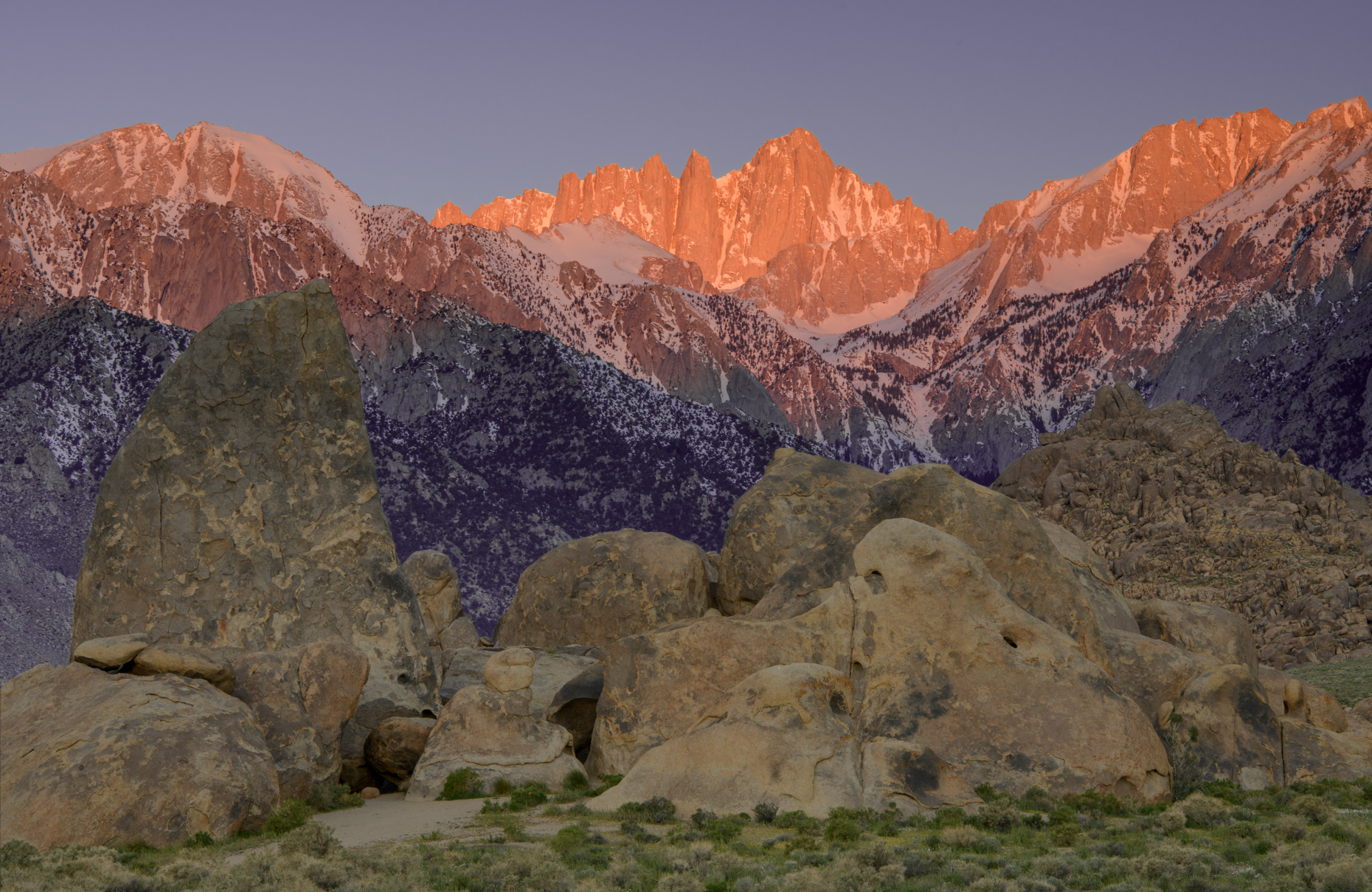 Landscape Image of Mount Whitney